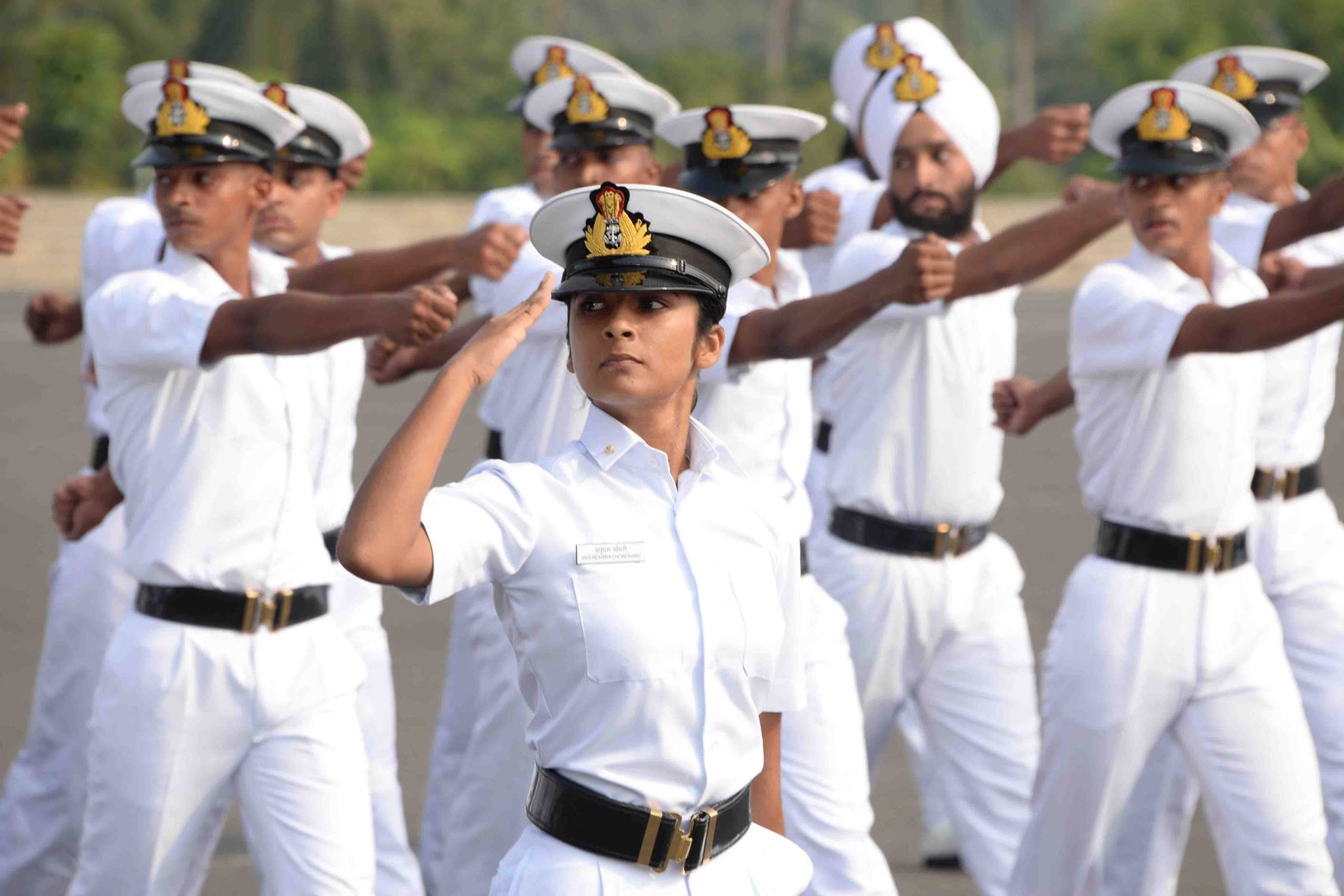 Pictures Showing Life Of Indian Navy Cadets