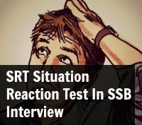 SRT Situation Reaction Test In SSB Interview