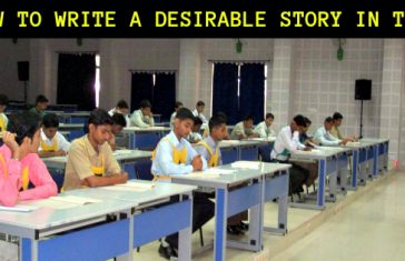 HOW TO WRITE A DESIRABLE STORY IN TAT