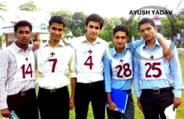 Ayush Yadav Recommended In 10+2 Tech Navy