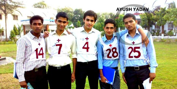 Ayush Yadav Recommended In 10+2 Tech Navy