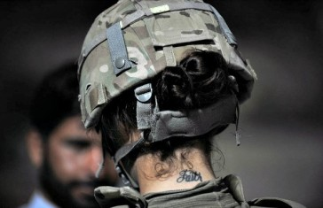 Indian army body tattoos