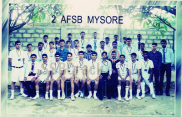 Recommended From 2 AFSB Mysore through NDA-130 Entry