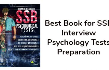 Best Book for SSB Interview Psychology Tests Preparation