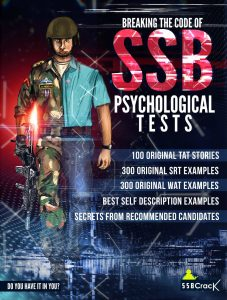 Book for SSB Interview Psychology Tests