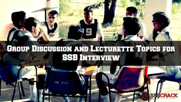 Group Discussion Topics at SSB