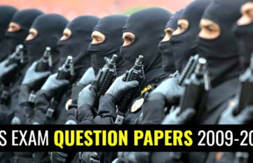 CDS EXAM QUESTION PAPERS 2009-2017
