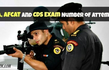 Number of Attempts, Age Limits for NDA, AFCAT and CDS Exam