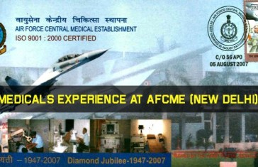 AFCME Medical Test Full Procedure