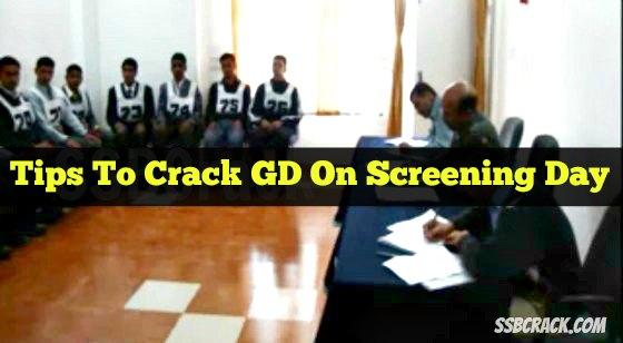 screening test ssb tips