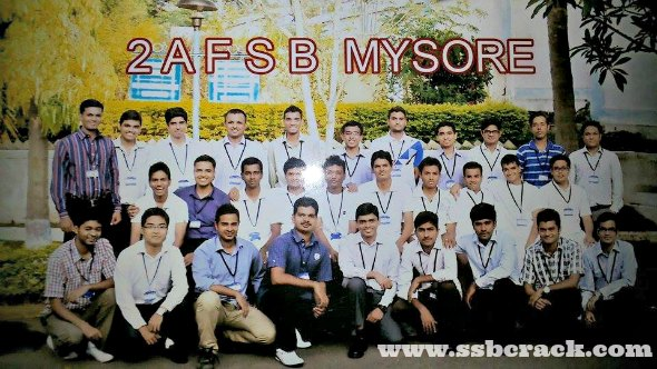 My AFSB Experience, Recommended from AFSB 2 Mysore