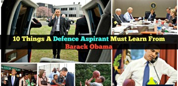 10 Things A Defence Aspirant Must Learn From Barack Obama