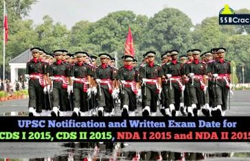 upsc cds and nda notification
