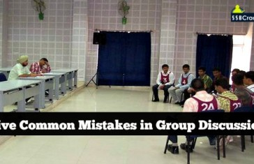 Five Common Mistakes in Group Discussion