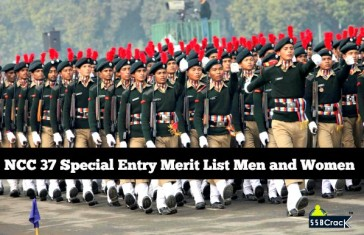 NCC 37 merit list