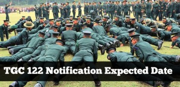TGC 122 Notification