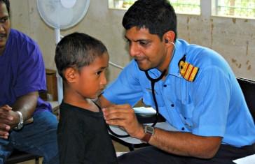Indian Navy Medical Examination