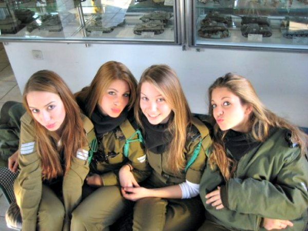 Ladies in the army