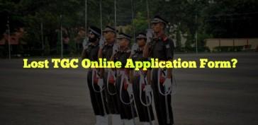 TGC Online Application Form