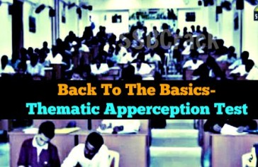 Back To The Basics- Thematic Apperception Test