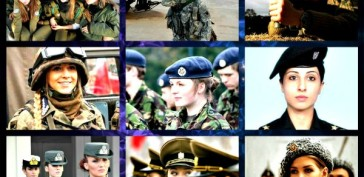 Top 10 Beautiful Women Soldier