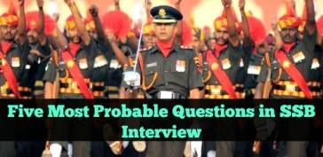 ssb-interview-sure-shot-questions