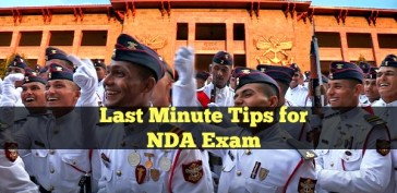 Last Minute Tips for NDA Exam
