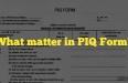 PIQ form ssb