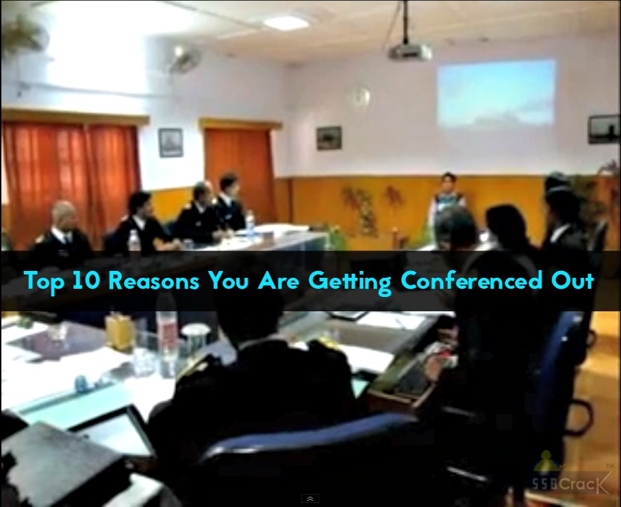 Top 10 Reasons You Are Getting Conferenced Out