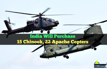 Defence Ministry Has Cleared Deals Worth Over $3Bn To Buy 15 Chinook, 22 Apache Copters