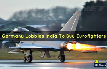 Germany lobbies India to buy Eurofighters