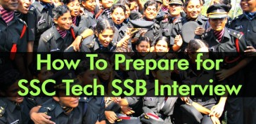 How To Prepare for SSC Tech SSB Interview