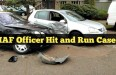 IAF officer hit and run case