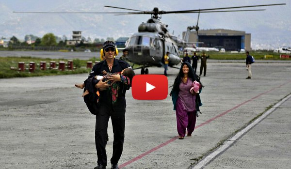 Indian Air Force Nepal Rescue Operation