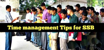 Time management Tips for SSB