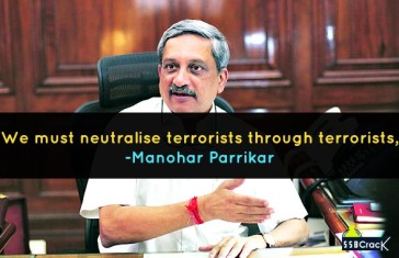 We must neutralise terrorists through terrorists, says Defence Minister Manohar Parrikar
