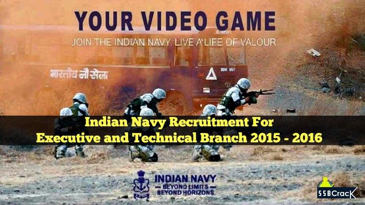 indian navy recruitment 2015 2016