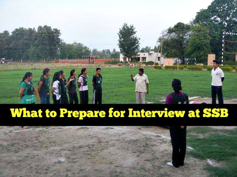 what to prepare for ssb interview