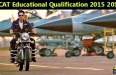 AFCAT educational qualification