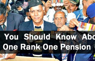 All You Should Know About One Rank One Pension