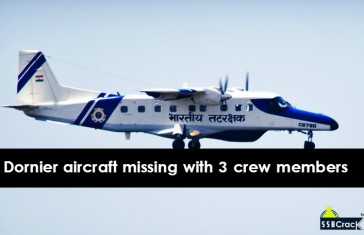 Coast guard Dornier aircraft with three crew members missing off Chennai coast