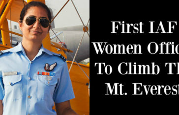 Squadron leader Nivedita Chaoudhary First IAF Women Officer To Climb The Mt. Everest