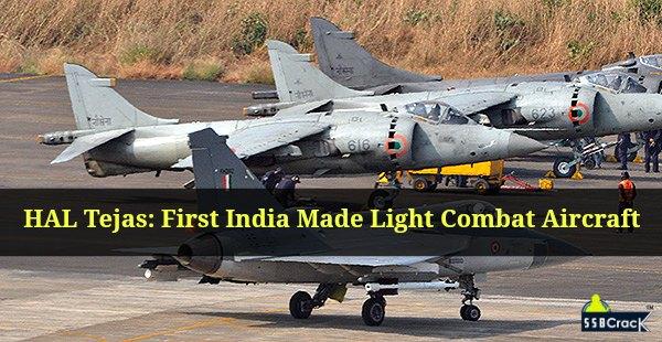 HAL Tejas First India Made Light Combat Aircraft