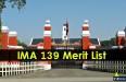 IMA 139 Merit List