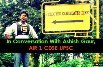 In Conversation With Ashish Gaur, AIR 1 CDSE UPSC