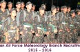 IAF Meteorology Branch Notification 2016 | January 2017 Course
