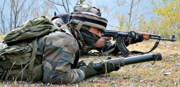 Indian Army Soldier AT LOC