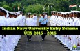 Indian Navy UES 2015 2016 Recruitment