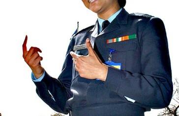 Squadron Leader Manju Bhaskar