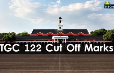TGC 122 cut off marks